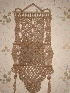 Поделка, изделие Макраме: Мои плетения!  Шпагат Отдых. Фото 1
