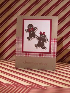 Favorite Stampin' Up Christmas Card 2012