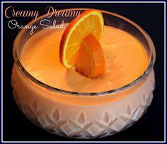Sweet Tea and Cornbread: Creamy Dreamy Orange Salad!