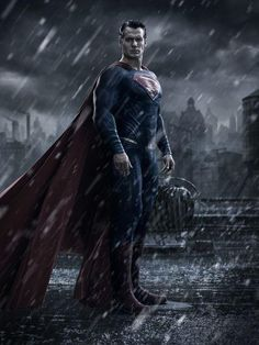 1st look at darker Superman, the 'v' in Batman v Superman explained   Blastr