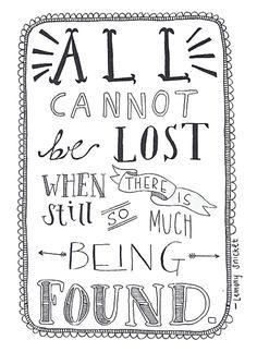 comforting.