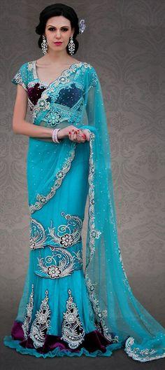 109052: NEW DRAPE: Shop Lehenga-saree in 60's draping style.