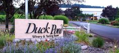 Duck Pond Cellars - A North Willamette Valley winery in Oregon wine country