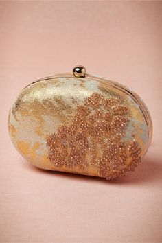 Gilded Lava Clutch from BHLDN