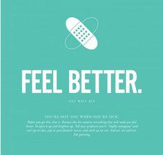 """Feel Better Soon"" G"