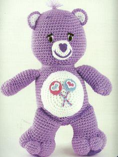 Carebears crochet patterns