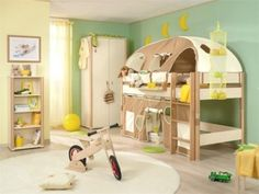 Baby nursery children room design