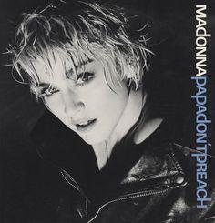 "Madonna US 12"", PAPA DON'T PREACH, 1986, Cat. No. 0-20492"