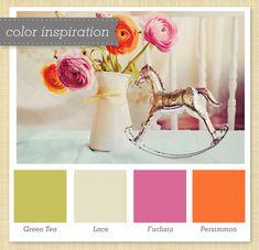 vintage color palette with a modern twist