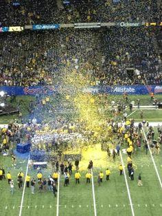 University of Michigan football