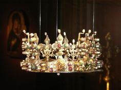 Crown of Elisabeth of Bosnia (Elisabeta Kotromanić, 1339-1387).