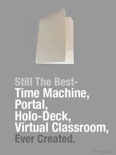 Books- still the best!