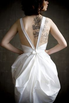 Tattoo + dress