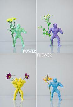 action figure centerpieces