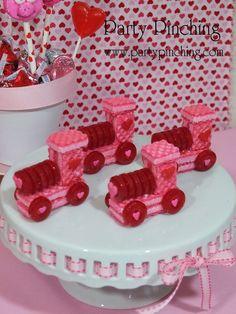 Train Cute Valentine Treats #valentine #treats