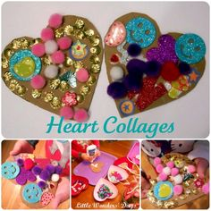heart collages