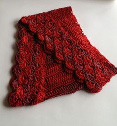 Ravelry: jlfabe's Staggered Shells Wrap