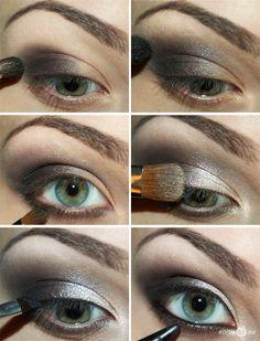 how to smokey the eye