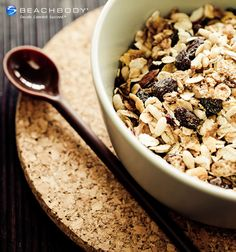 Store-bought granola