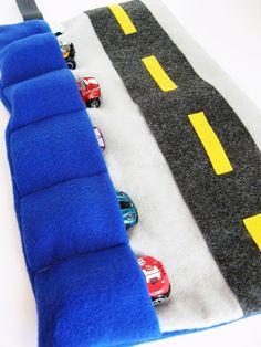 DIY Toy Car Caddy
