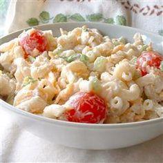 Macaroni and Cheese Salad Allrecipes.com
