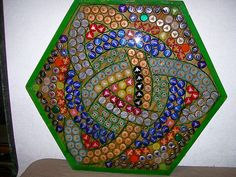 Celtic Knot Hex Bottlecap