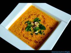 Kolorowa Kuchnia Magdy: Chłodnik marchewkowy z orzechami