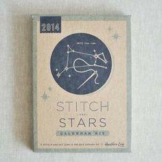 Heather Lins Home : 2014 Stitch the Stars Calendar Kit : the workroom