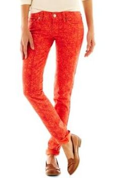 Bright up someone's day with Levi's® 524™ Skinny Jeans on sale for $14.99, plus get 1 SB for every dollar spent (more that 1%) on all your back to school fashion at JCPenny