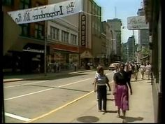 Charleston WV before the Town Center Mall was built.