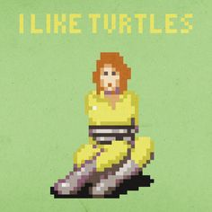 8bit i like turtles.