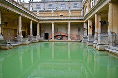 Roman Bath, Bath, UK