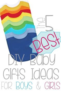 Great DIY gift ideas that a new mom needs most!