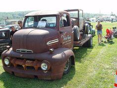 51 Ford COE ratrod