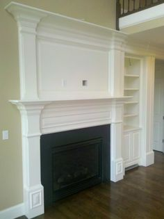 Fireplace Mantle » Custom Home Finish