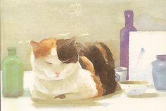 Watercolor by Leslie Baker