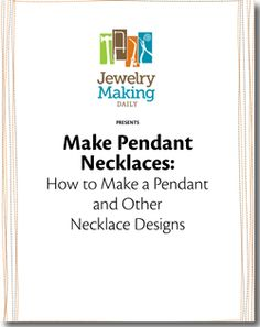 Free necklace-making projects