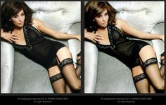 Eva Longoria before and after photoshop