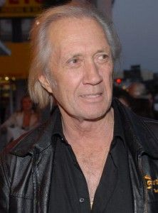 File this squarely under creepy. A few months before his body was found hanging in a Bangkok hotel room closet, David Carradine sat down to discuss a ghost he believed was haunting him … from a closet.  The interview, taped for the Oct. 3 premiere of the BIO show 'Celebrity Ghost Stories,' centers on Carradine's belief that his wife Annie's deceased husband Dana was using the closet in their bedroom as home
