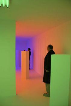 Carlos Cruz-Diez / Color in Space and Time exhibition