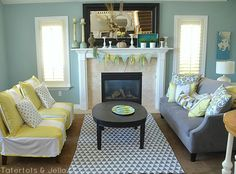 Make Chair Slipcovers out of Curtain Panels!