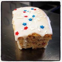 Oakville grocery's 4th of July Twinkie. Hitting an oakville near you on Monday. Strawberry, blueberry, vanilla, and kick ass sprinkles. @Theresa Burger Harrington Grocery #napavalley #napa #Healdsburg #Oakville