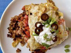 Mexican Casserole (vegetarian!)