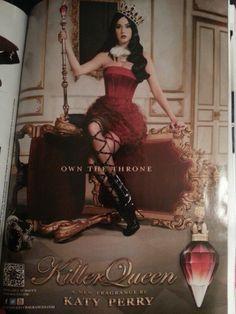Killer queen. Katy Perry
