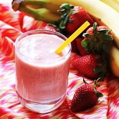 Strawberry Banana Smoothie. A great way to start your day!!