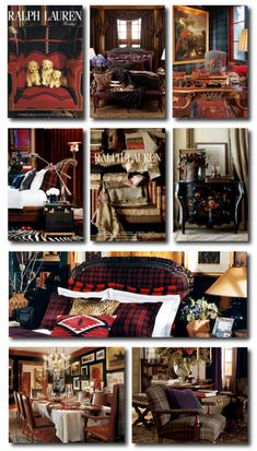 Ralph Lauren Lodge Collection, Keywords: Primitive Decorating, Primitive Furniture Ideas, Early American Decorating,Americana Antiques, Lodge Decorating, Cabin Decorating, Tartan, Ralph Lauren Home, Rustic Furniture, Distressed Furniture, Painted Furniture