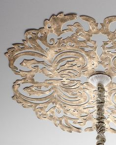 Lace Pattern Ceiling Medallion at Horchow.