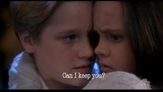 Casper. This was the best scene and I totally had a crush on him. In boy form, not ghost form, obviously.