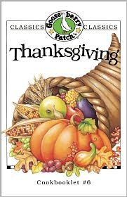 Gooseberry Patch Thanksgiving Cookbook