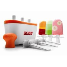 Zoku Pop Maker - Whip up a batch of pops in record timing with this summer essential! Great for a last-minute dessert at a BBQ, cottage or children's bday party  #indigo #perfectsummer